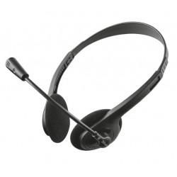 Trust - ZIVA CHAT HEADSET Auriculares Diadema Negro