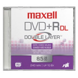 Maxell - DVDR DL 10 Pack 85 GB 10 piezas
