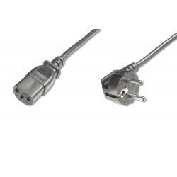 ASSMANN Electronic - AK-440100-018-S cable de transmisin Negro 18 m CEE7/7 C13 acoplador