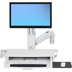 Ergotron - StyleView Carro para administracin de tabletas Blanco PC - 45-260-216
