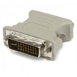StarTechcom - Adaptador Conversor DVI-I a VGA - DVI-I Macho - HD15 Hembra - Blanco