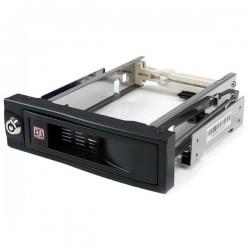 StarTechcom - Rack Mvil Aluminio para Disco Duro HDD SATA de 35 Pulgadas sin Bandeja Baha de 525