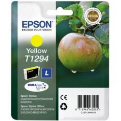 Epson - Apple Singlepack Yellow T1294 DURABrite Ultra Ink - C13T12944010