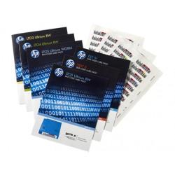 Hewlett Packard Enterprise - Q2014A etiqueta para sistemas de almacenaje Etiqueta autoadhesiva 100 piezas