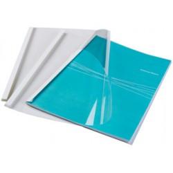 Fellowes - 53154 cubierta A4 De plstico Transparente Blanco 100 piezas