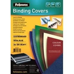 Fellowes - Delta A4 Papel Azul 100 piezas