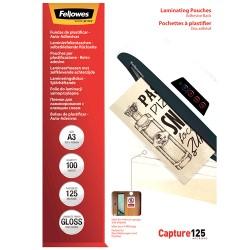 Fellowes - 5329001 pelcula de laminacin A3 100 piezas