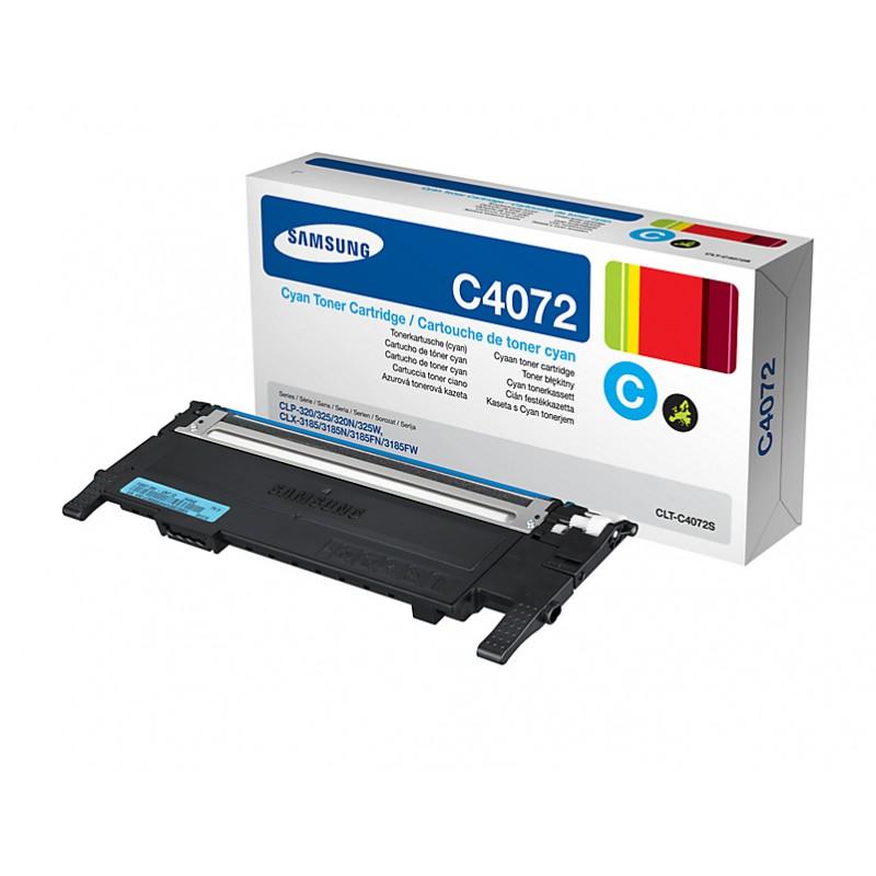 Samsung - CLT-C4072S cartucho de tner Original Cian 1 piezas