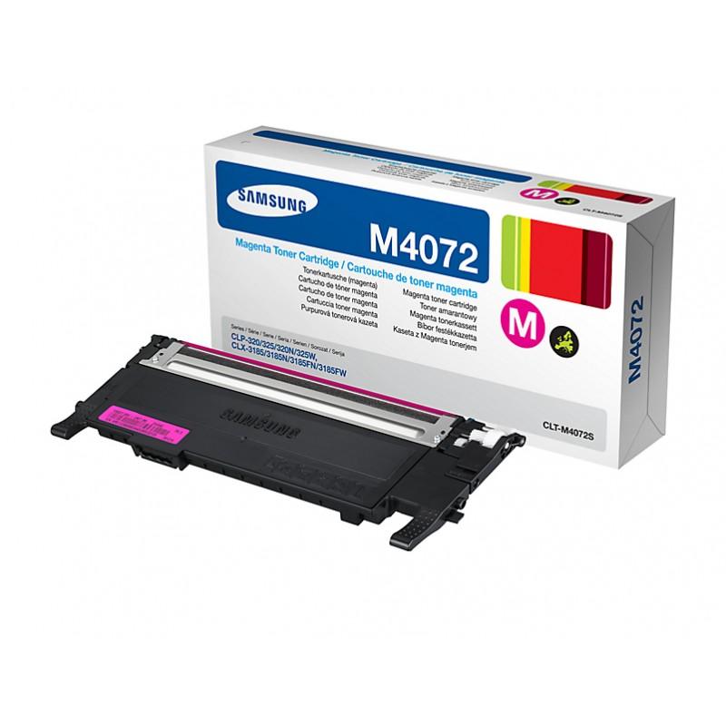 Samsung - CLT-M4072S cartucho de tner Original Magenta 1 piezas