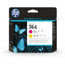 HP - Cabezal de impresin DesignJet 744 magenta/amarillo