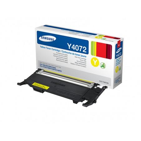Samsung - CLT-Y4072S cartucho de tner Original Amarillo 1 piezas