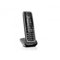Gigaset - C530HX Telfono DECT Negro Plata Identificador de llamadas