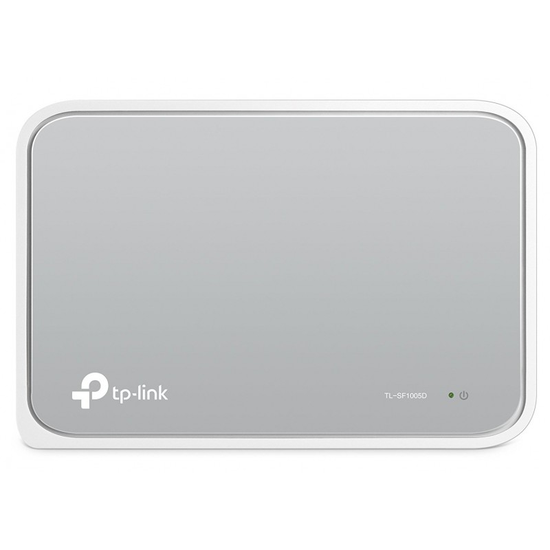TP-LINK - TL-SF1005D No administrado Fast Ethernet 10/100 Blanco