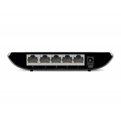TP-LINK - TL-SG1005D No administrado Gigabit Ethernet 10/100/1000 Negro