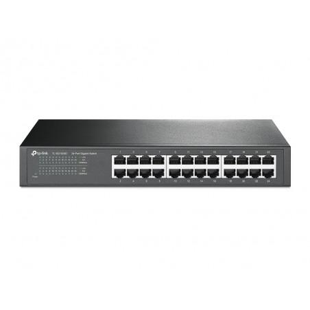 TP-LINK - TL-SG1024D No administrado Gigabit Ethernet 10/100/1000 Gris