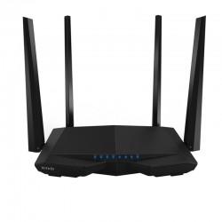 Tenda - AC6 router inalmbrico Doble banda 24 GHz / 5 GHz Ethernet rpido Blanco