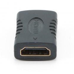 Gembird - A-HDMI-FF adaptador de cable Negro