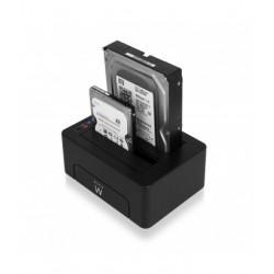Ewent - EW7014 base de conexin para disco duro Negro