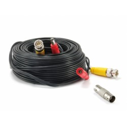 Conceptronic - CCBNC18 cable coaxial 18 m BNCDC Negro Rojo Amarillo