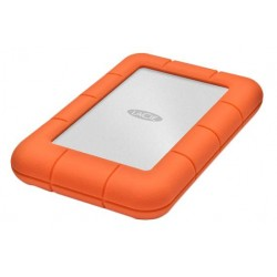 LaCie - Rugged Mini 2TB disco duro externo 2000 GB Aluminio Naranja