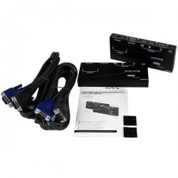 StarTechcom - Extensor de Consola KVM por Cat 5 Ethernet 150m con USB y Vdeo VGA