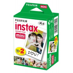 Fujifilm - 16386016 pelcula instantneas 54 x 86 mm 20 piezas
