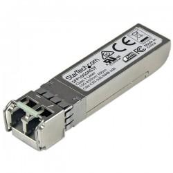 StarTechcom - Transceptor de Fibra SFP de 10Gb 10GBase-SR Compatible Cisco SFP-10G-SR-S Mini GBIC Multimodo LC 300m DDM
