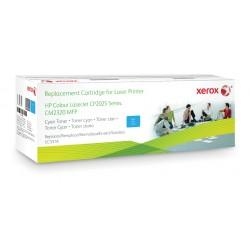 Xerox - Cartucho de tner cian Equivalente a HP CC531A Compatible con HP Colour LaserJet CM2320 MFP Colour LaserJet CP2020/CP