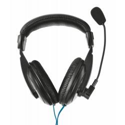 Trust - 21661 auricular y casco Auriculares Diadema Negro