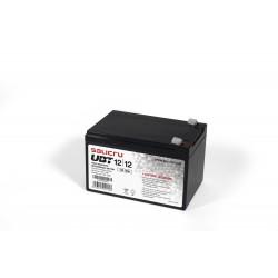 Salicru - UBT 12/12 - Batera AGM recargable de 12 Ah