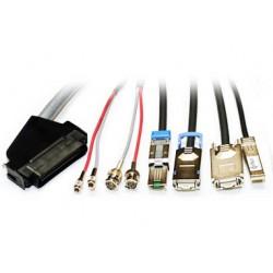 Lenovo - 3m LC-LC OM3 cable de fibra optica