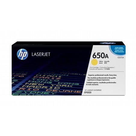 HP - 650A 1 piezas Original Amarillo