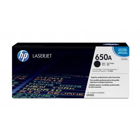 HP - 650A 1 piezas Original Negro
