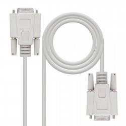 Nanocable - CABLE SERIE NULL MODEM DB9/H-DB9/H 18 M