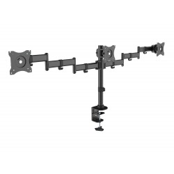Equip - 650116 soporte para monitor 686 cm 27 Abrazadera Negro