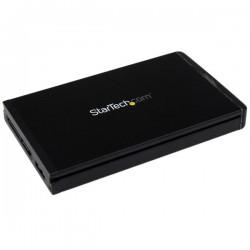 StarTechcom - Caja USB-C USB 31 de 10Gbps para Discos Duros SATA de 25 Pulgadas - para usarse con S251BU31REM