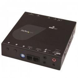 StarTechcom - ST12MHDLAN4R extensor audio/video Receptor AV Negro