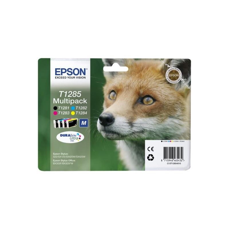 Epson - Fox Multipack T1285 4 colores - C13T12854010