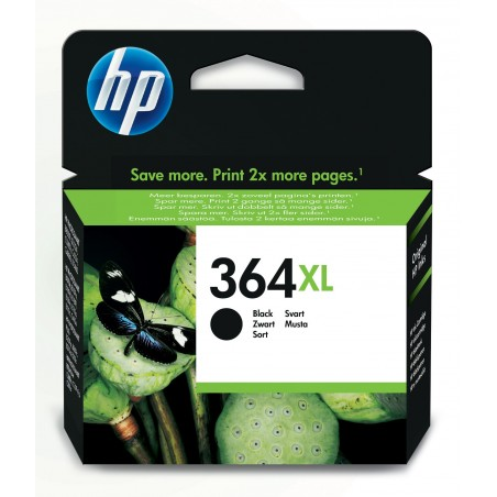 HP - 364XL 1 piezas Original Alto rendimiento XL Negro