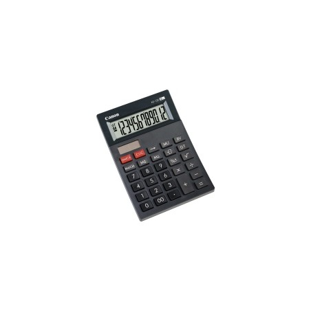 Canon - AS-120 calculadora Bolsillo Pantalla de calculadora Gris