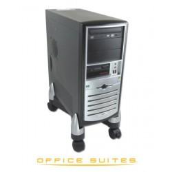 Fellowes - 8039001 PC Negro Plata soporte de CPU