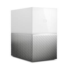 Western Digital - My Cloud Home Duo dispositivo de almacenamiento personal en la nube 12 TB Ethernet Blanco