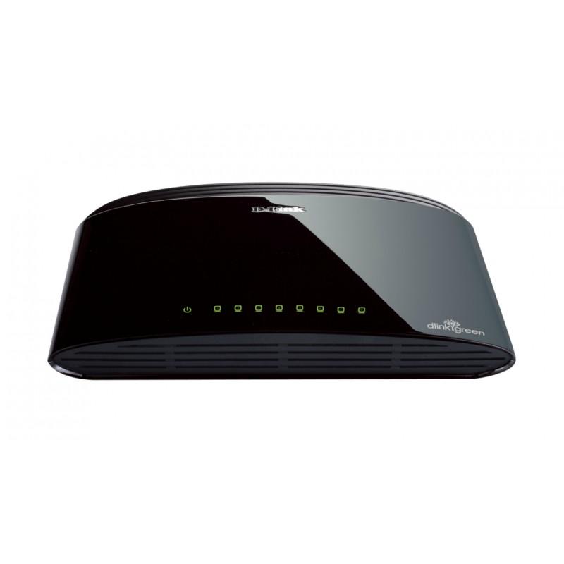 D-Link - DES-1008D No administrado Fast Ethernet 10/100 Negro
