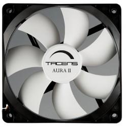 Tacens - Aura II 12cm Carcasa del ordenador Ventilador Negro Blanco