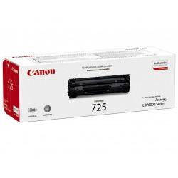 Canon - CRG 725 Original Negro 1 piezas
