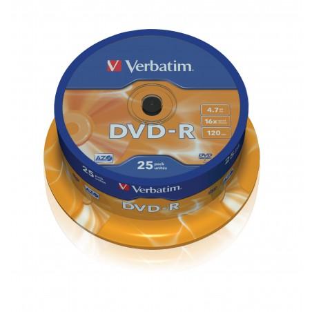 Verbatim - 43667 47 GB DVD-R 25 piezas