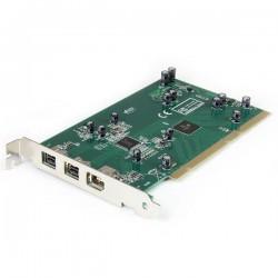 StarTechcom - Adaptador Tarjeta Controladora FireWire 800/400 PCI 2 Puertos 1394b 1x 1394a - Kit Edicin DV