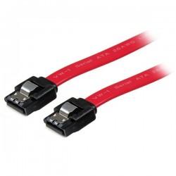 StarTechcom - LSATA24 cable de SATA 0609 m SATA 7-pin Rojo