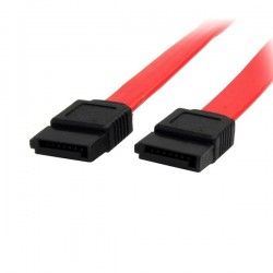 StarTechcom - Cable SATA 045m - Rojo - 18in Pulgadas Cable Serial ATA