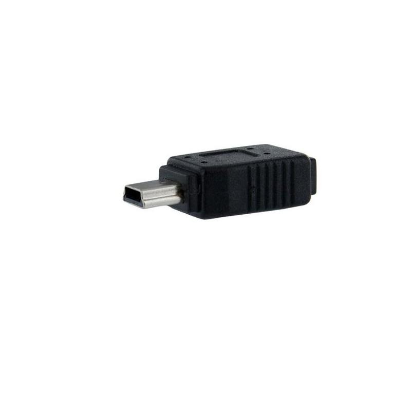 StarTechcom - Adaptador Micro USB a Mini USB - 1x MicroUSB-B Hembra - 1x MiniUSB-B Macho